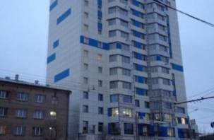 Строитель общежития физакадемии упал с 7 этажа и разбился насмерть