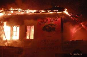 В Ярцеве произошел очередной крупный пожар