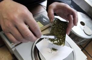 Полицейские обнаружили марихуану в гараже у жителя Сычевки