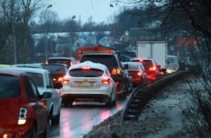 В Смоленске готовятся закрыть путепровод на Крестовоздвиженском мосту