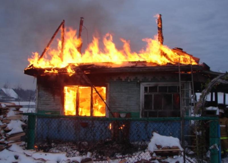 Пожар в новогоднюю ночь унес жизни трех человек