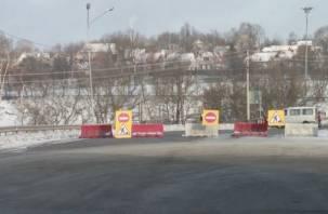 В Смоленске закрыто движение по путепроводу на ул.Степана Разина