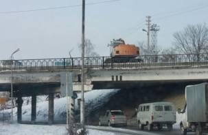 Ремонт моста в Смоленске вызвал локальный коллапс
