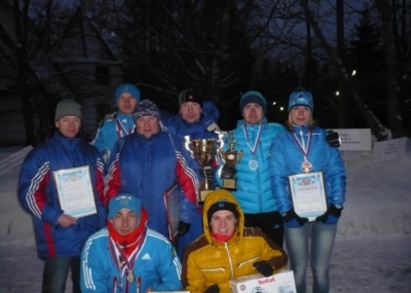 Смоленские полицейские – первые в лыжных гонках