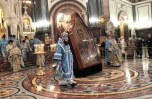 Стала известна программа встречи Одигитрии в Смоленске