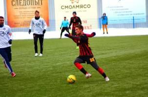 Смоленский «Днепр» провел товарищеский матч ФК «Витебск»
