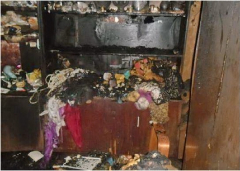 В пожаре на проспекте Строителей погибли 3 человека