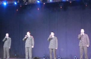 В СмолГУ прошел фестиваль патриотической песни