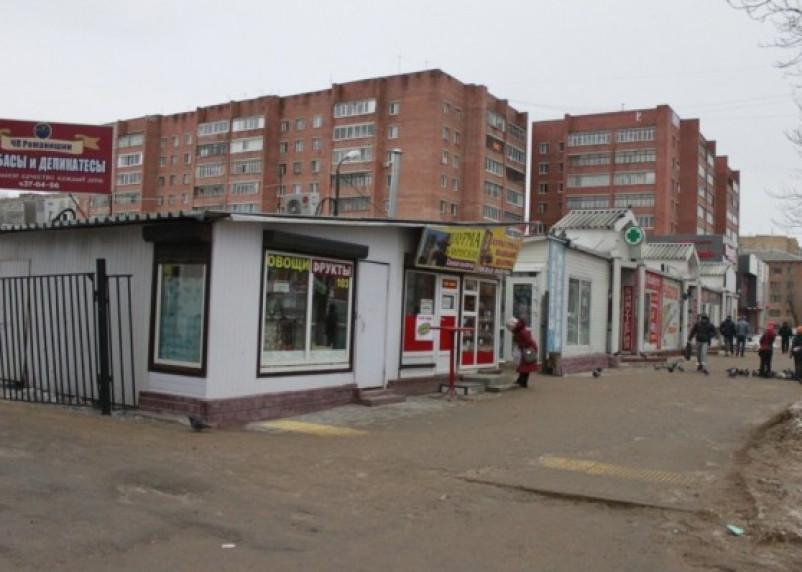 В Смоленске снесут «кировский рынок»