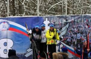 В Смоленске состоялась Всероссийская массовая лыжная гонка «Лыжня России»