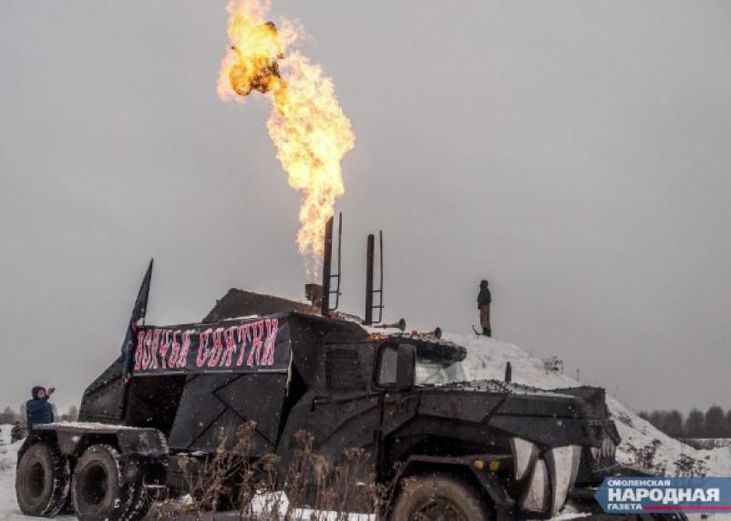 В Смоленской области прошел мотофестиваль «Волчьи святки»