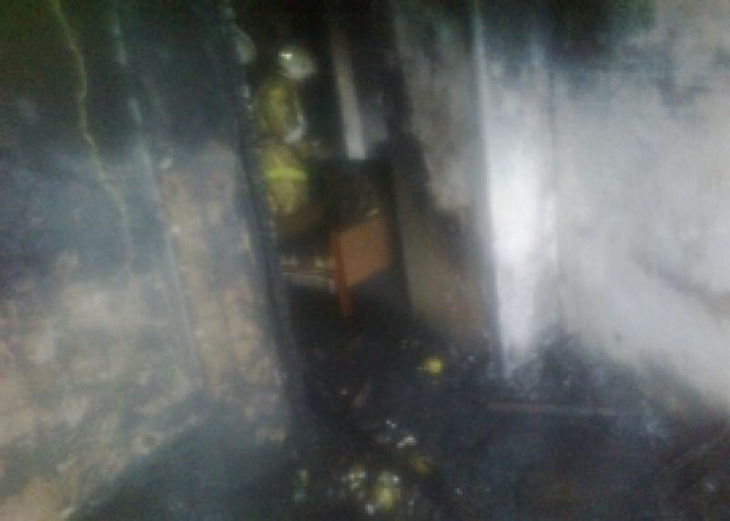 В Смоленске в огне погибла женщина