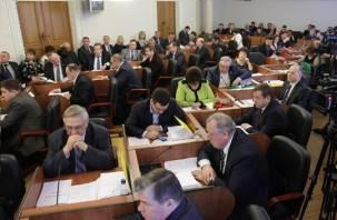 Справедливороссы предложили сократить расходы областной Думы