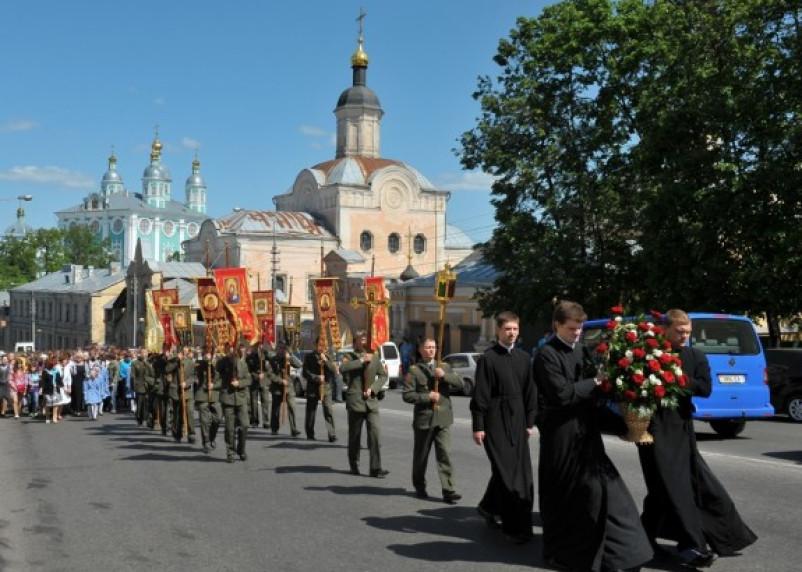 Из Крыма в Смоленск пройдет крестный ход