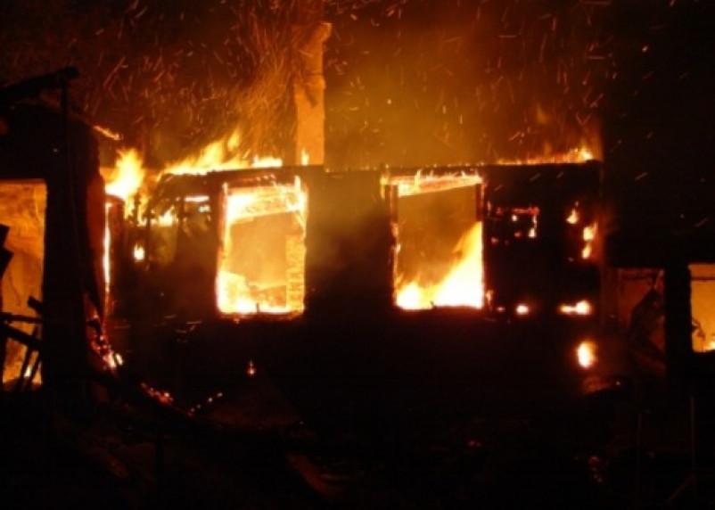 В Смоленской области в пожаре погибла женщина