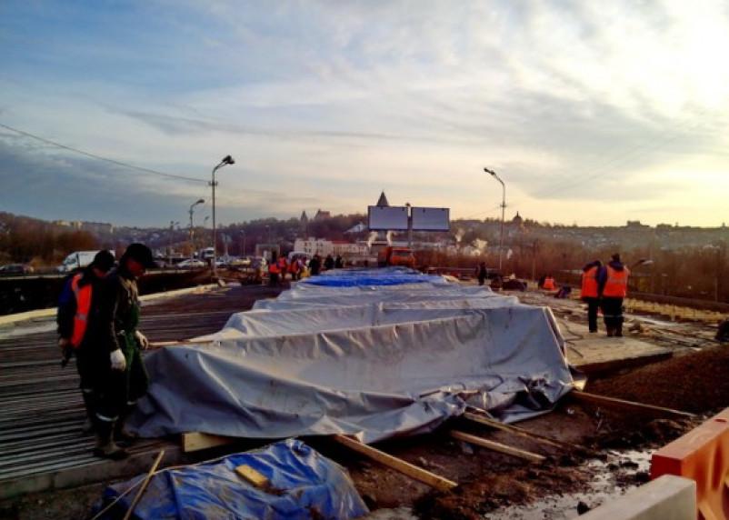 Путепровод по ул.Степана Разина готовят к финальной стадии работ