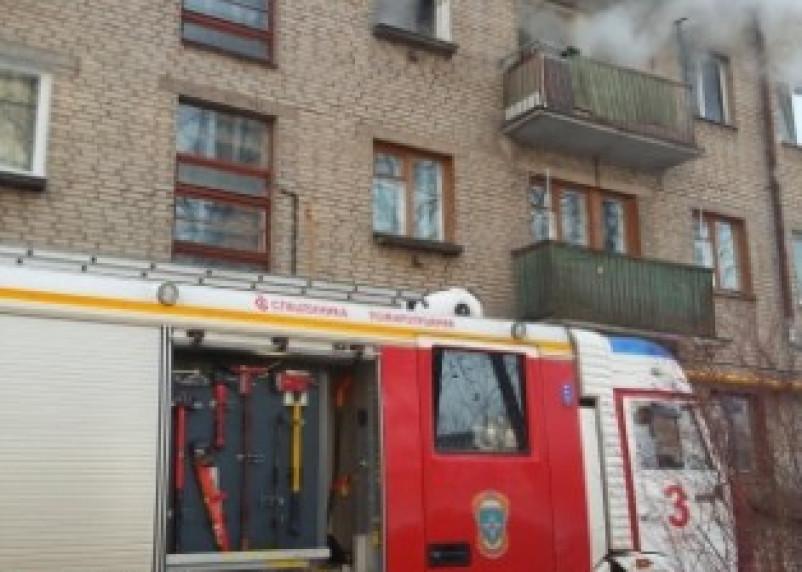 Пожар на ул.Лавочкина в Смоленске унес жизни двух человек