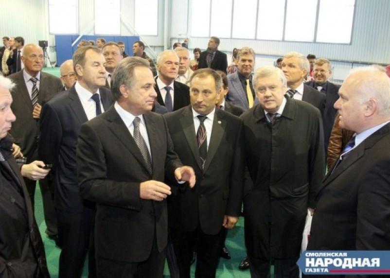 Министр спорта раскритиковал власти Смоленской области за нерасторопность