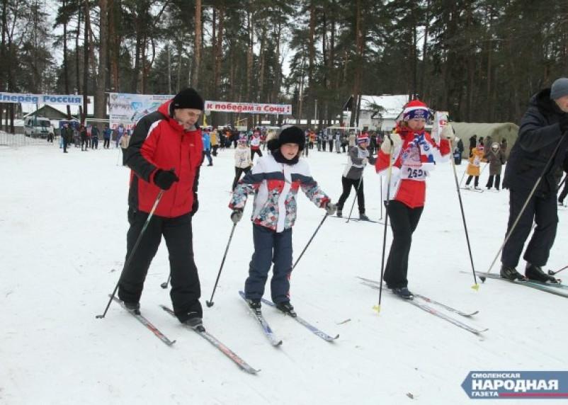 В воскресенье Красном Бору пройдет «Лыжня России – 2015»