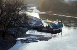 В Смоленске продолжится расчистка русла Днепра