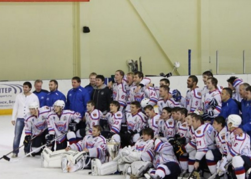 Смоленские хоккеисты — чемпионы Регулярного чемпионата