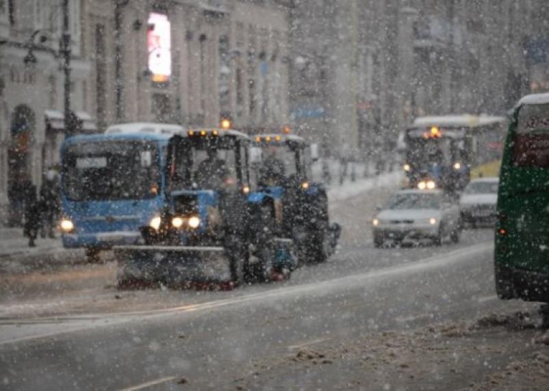 Величина снежного покрова в Смоленске достигла шести сантиметров