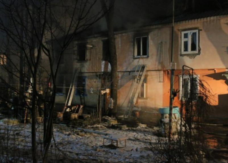 В Смоленске в результате пожара в бараке погибли два человека