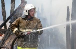 В пожаре, возникшем из-за неисправной электросети, погибли два человека