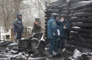 Взрыв газа в Кардымовском районе привел к гибели трех человек. Фоторепортаж