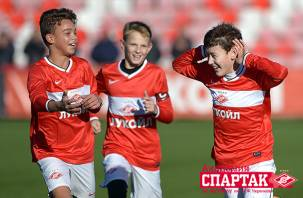 Смоленский воспитанник сыграл первый матч за московский «Спартак»