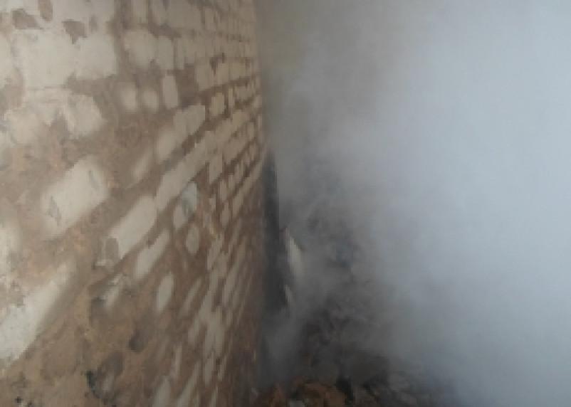 В Смоленске произошел пожар на центральном теплопункте