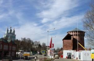 Одну из башен Смоленской крепостной стены сдали в аренду