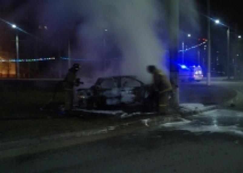 В Смоленской области сгорел очередной автомобиль