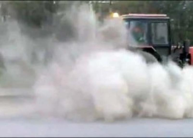 Смоленск утопает в пыли