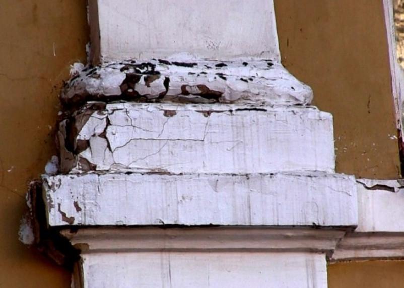 Как в Смоленске «юбилейные» фасады ремонтировали