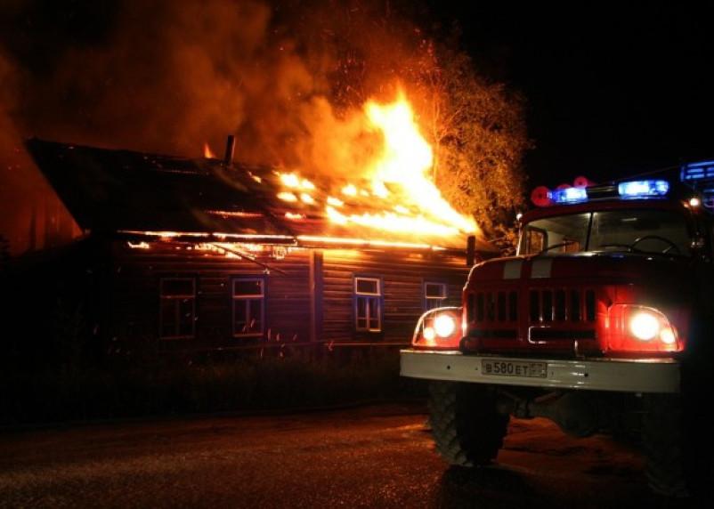 В городе Велиж Смоленской области в пожаре погиб ребенок