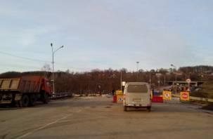 Крестовоздвиженский мост в Смоленске откроют раньше срока