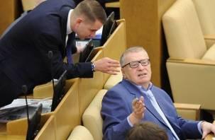 Жириновский и Нилов намерены покорить Смоленский горсовет