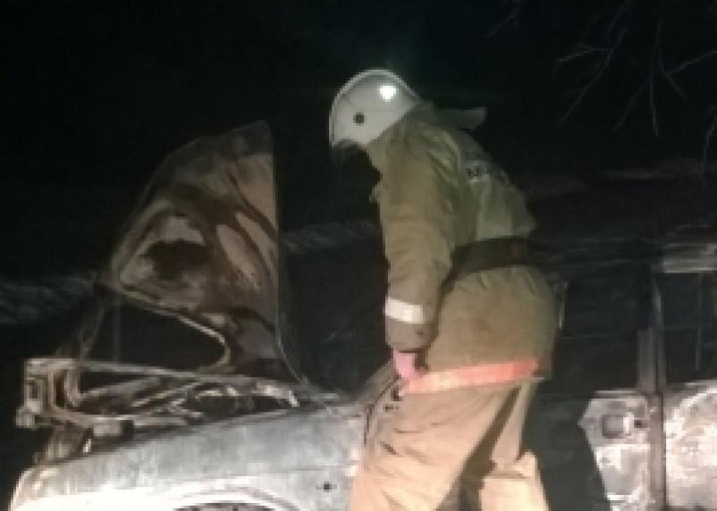 За ночь в Смоленске сгорело три автомобиля