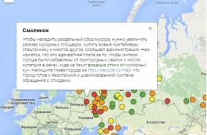Гринпис признал власть Смоленска неспособной справиться с мусором в городе
