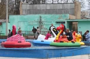 На месте Летнего театра в Смоленске появятся очередные аттракционы