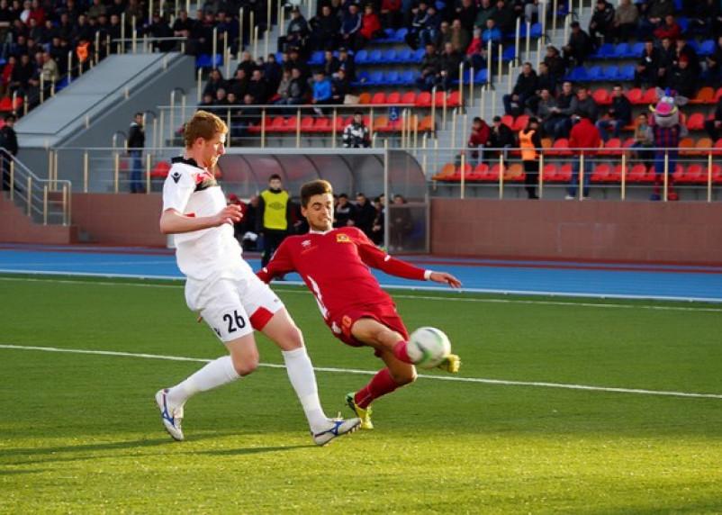 Смоленский «Днепр» уступил в первом матче второго круга