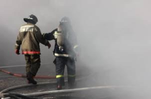 В Смоленской области горела общественная баня