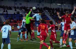 Смоленский «Днепр» одержал первую победу