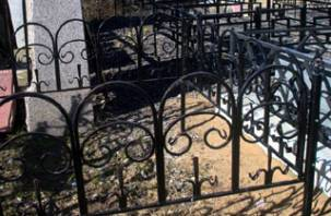 Задержан кладбищенский вор