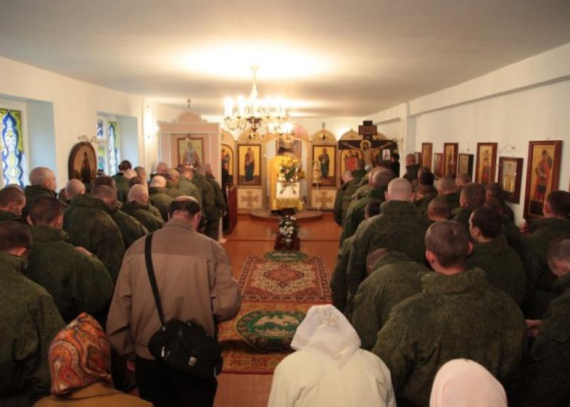 В Смоленской военной части будут проходить богослужения