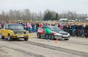 В Смоленске открыт сезон по Drag Racing