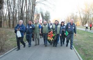 Автопробег «Зауральцы по дорогам Великой Победы» прошел через Смоленск. Фоторепортаж