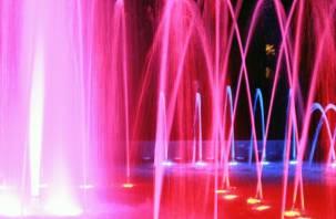 В Смоленске перестанут работать фонтаны