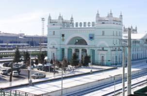 В Смоленске ограничат въезд на привокзальную площадь